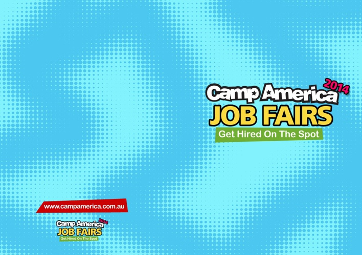 The Camp America Job Fair 2014 - Meet the Camps