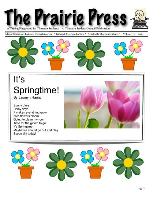 Prairie Press Newspaper vol 16
