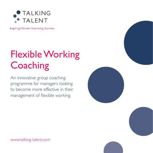 Manager Flexible Working Coaching New Details 2014