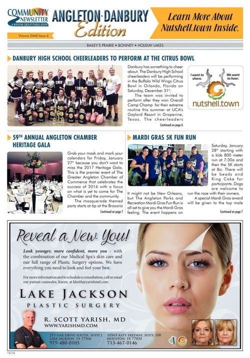 Angleton-Danbury Community News Volume 24 Issue 6