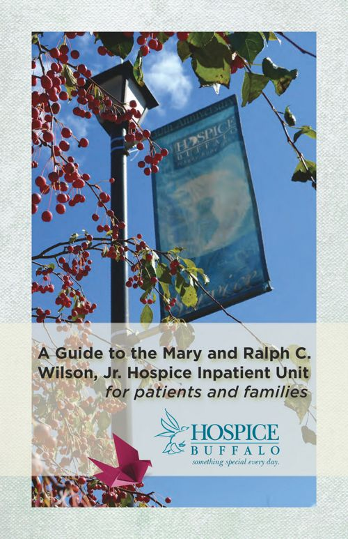Hospice Inpatient Unit Brochure