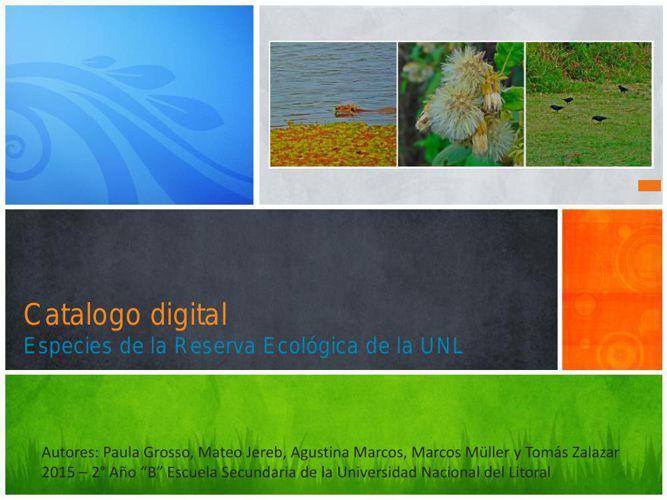 Catalogo digital-Seminario de biología-2015