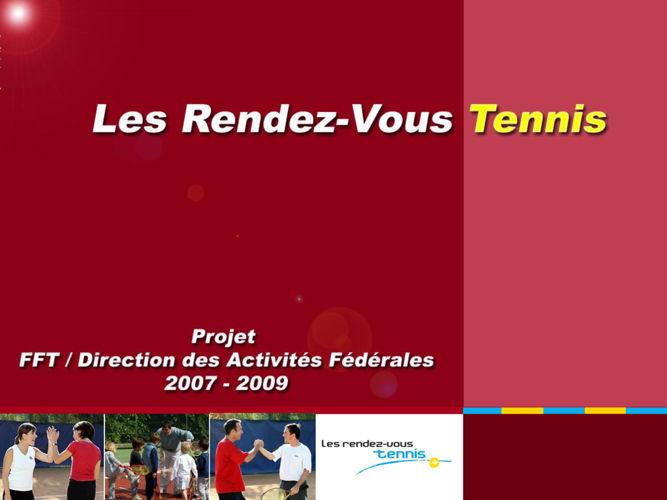 Les RDV du tennis