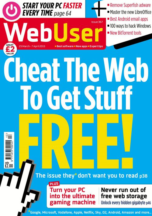 Webuser Issue 367 March 25 - April 07 2015