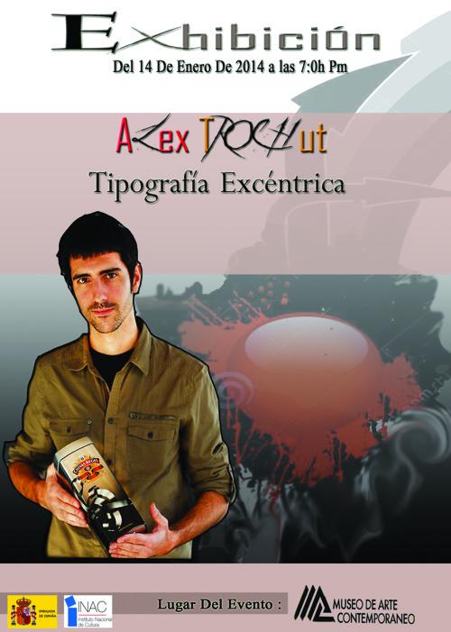catalogo TIPOGRAFIA EXCÉNTRICA DE ALEX TROCHUT