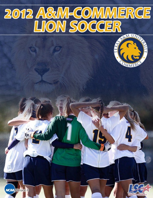 2012 A&M-Commerce Soccer Yearbook