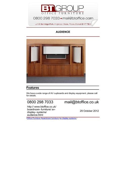 AV Display Systems
