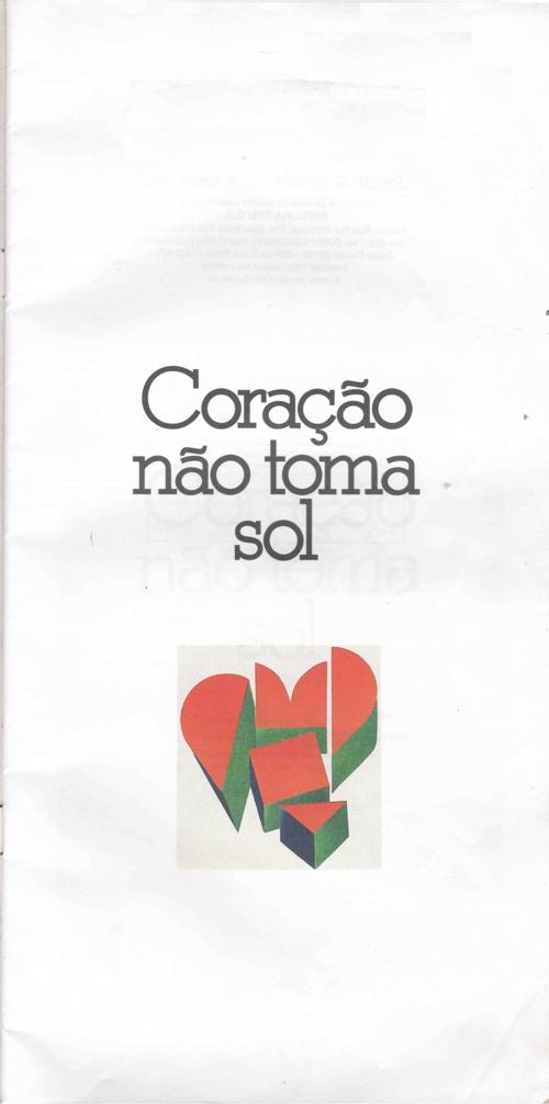 Coração não toma sol