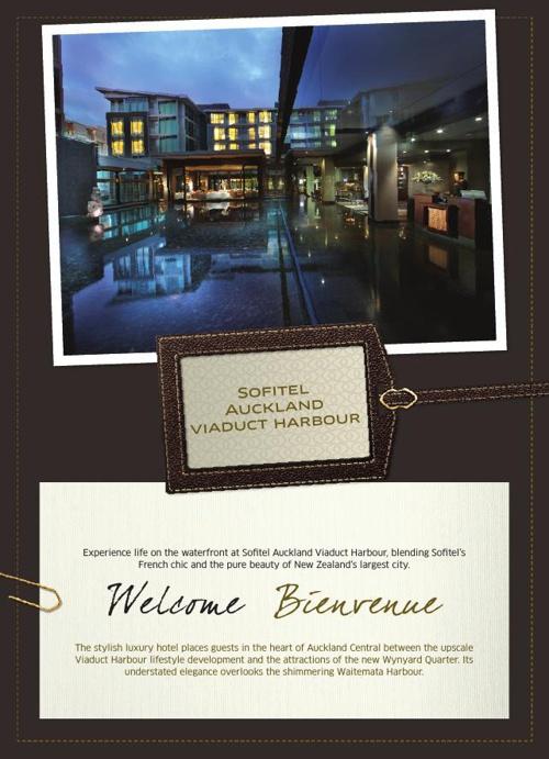 Sofitel Auckland Brochure