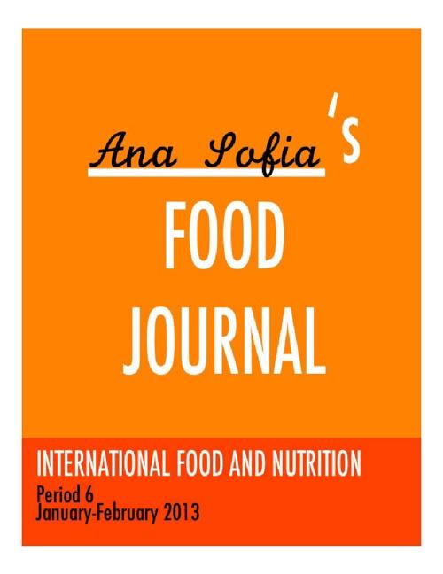 IFN - FOOD JOURNAL