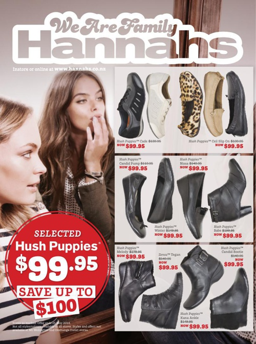 Hannahs - May Mailer - May 2014