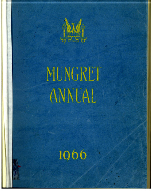 1966 Mungret College Annual