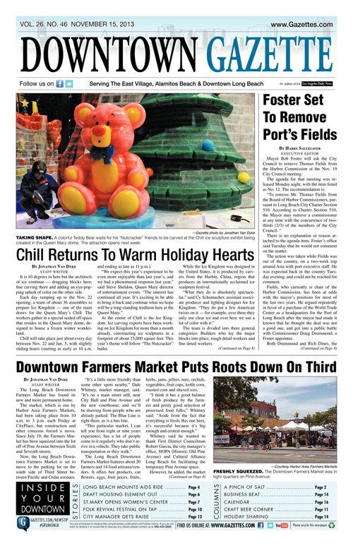 Downtown Gazette  |  November 15, 2013