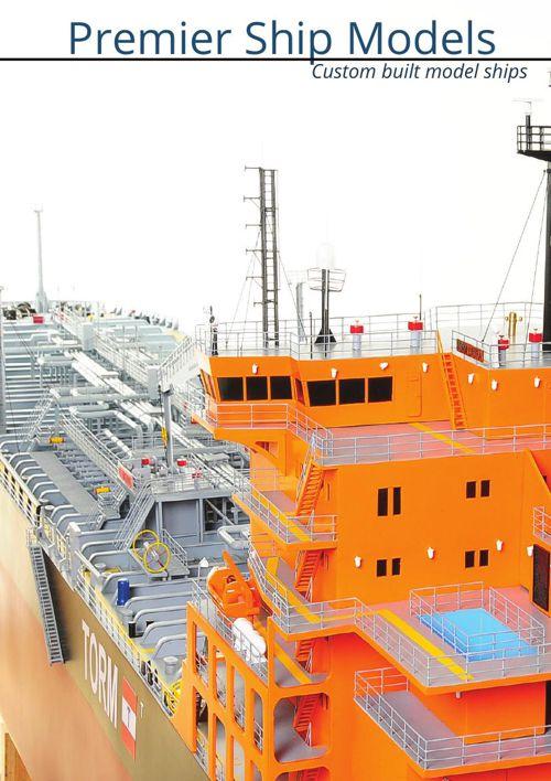 PSM Technical Vessels & Tanker Model Ships