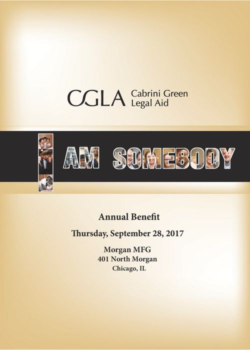 2017 I AM SOMEBODY CGLA GALA EVENT