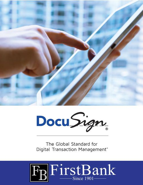 FirstBank DocuSign Advertising Campaign