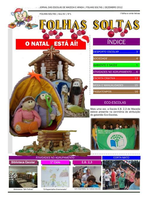 Jornal Escolar Folhas Soltas 2012/13