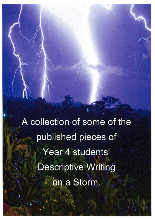 Year 4 Descriptive Writing about a Storm