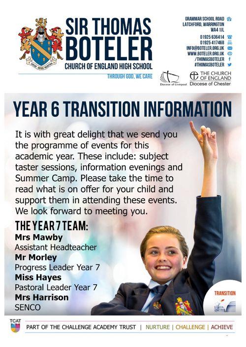 Transition Programme 2017-18