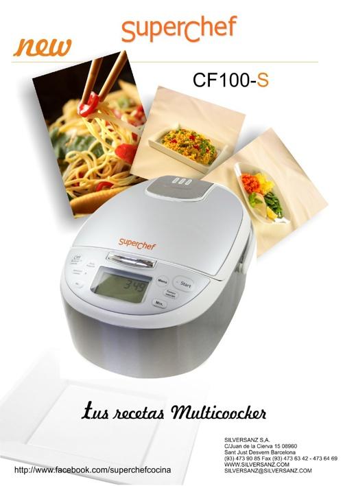 Recetas SuperChef CF100 S