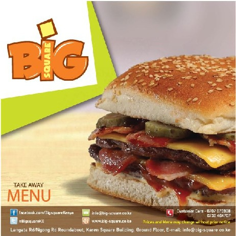 Big Square Menu
