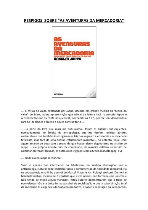 IMPRESSÕES CRÍTICAS 2
