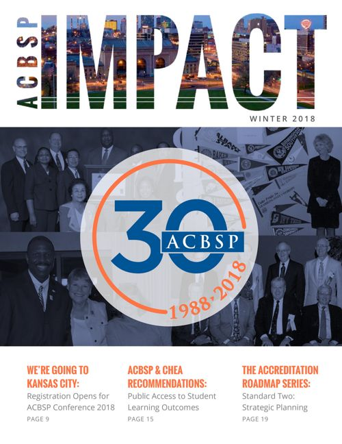 ACBSP Impact -Winter 2018