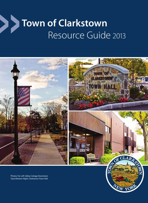 Resource Guide 2013 : Town of Clarkstown