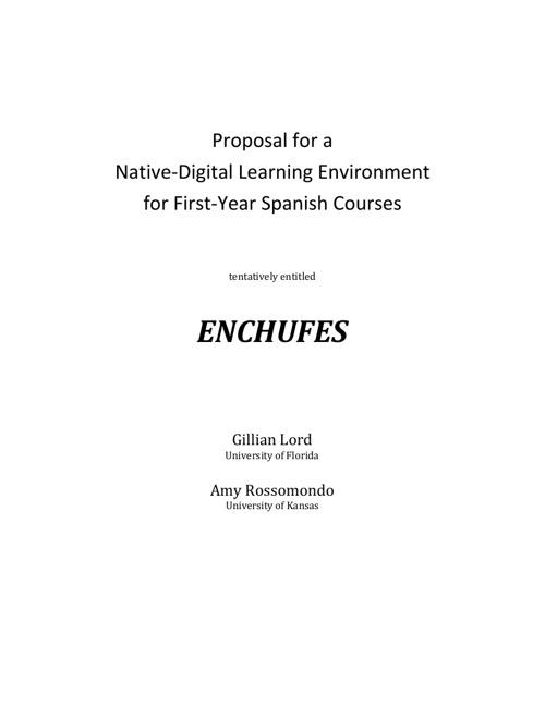 Copy of ENCHUFES prospectus