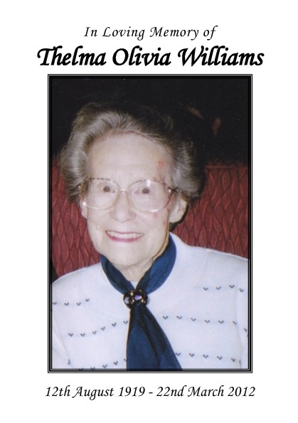 Thelma Williams