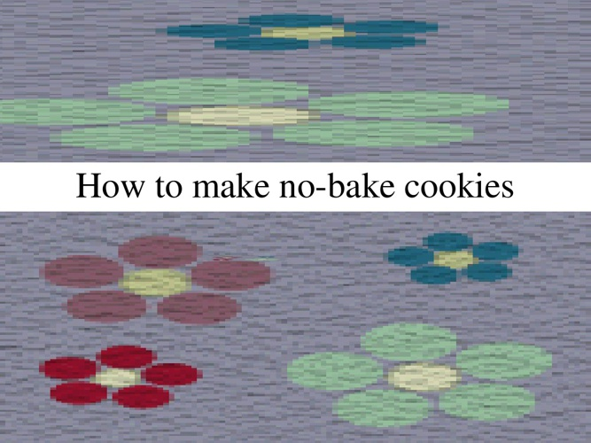 How to Make No-Bake Cookies