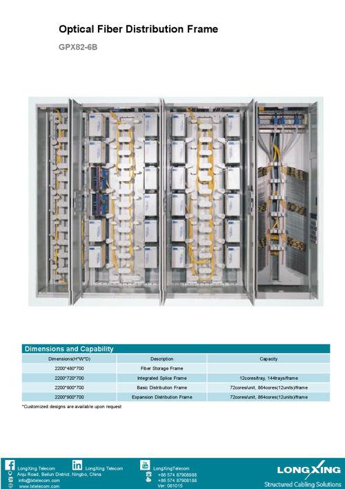 longxing-module-structure-optical-distribution-frame-gpx82-6b-da