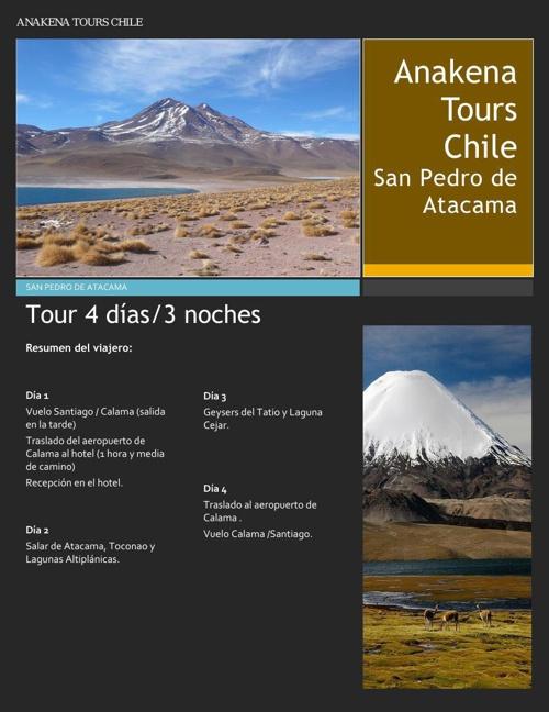 San Pedro de Atacama 4 dias 3 noches