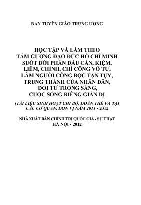 Tai lieu sinh hoat 2011-2012
