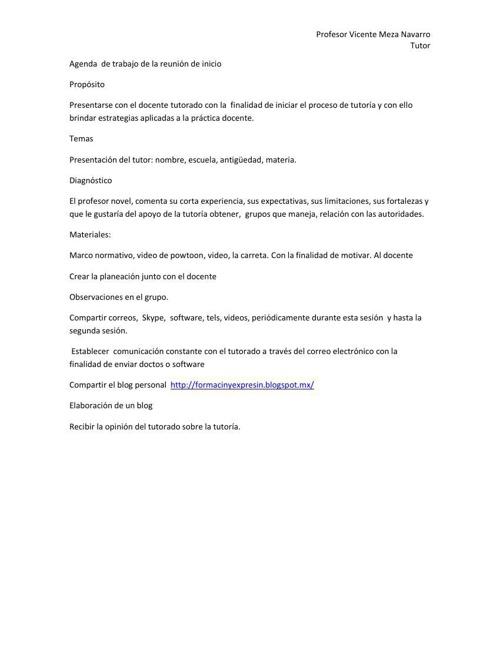 Agenda  de trabajo de la reunión de inicio.tutoriadocx