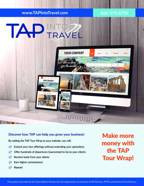 TAP Tour Wrap Enrollment Form