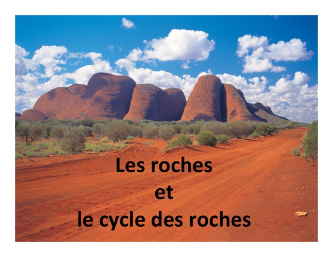 4.2 Les roches