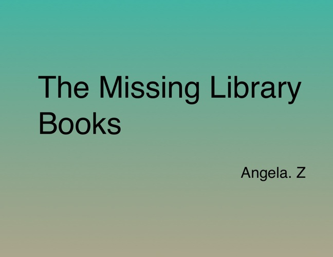 4SR Angela Z Mystery