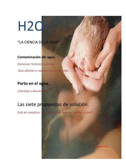 H2O la ciencia de la vida