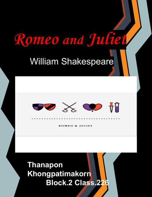 Romeo and Juliet Scrapbook