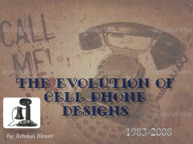 The Evolution of Cell Phone