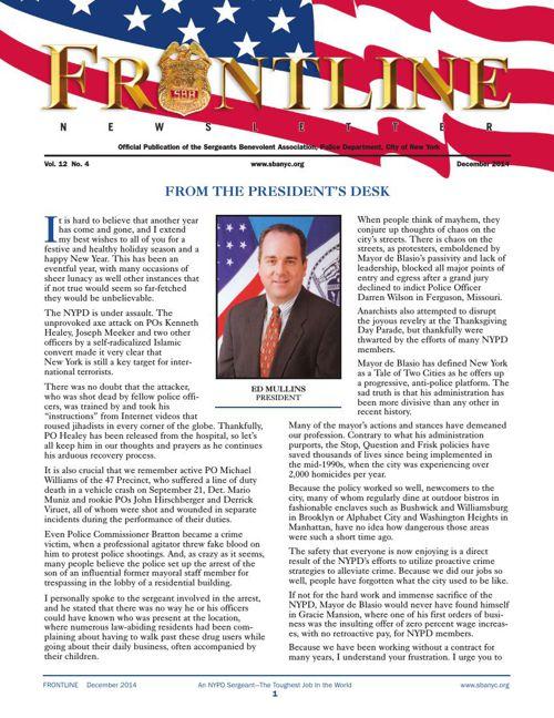 Frontline Newsletter | December 2014