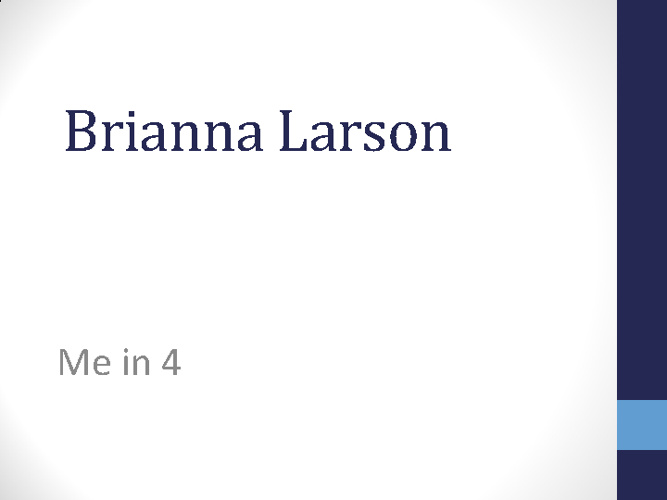 Brianna's Flip Book
