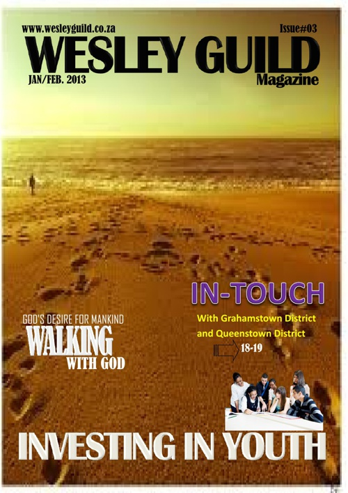 WESLEY GUILD MAGAZINE- Jan/Feb 2013