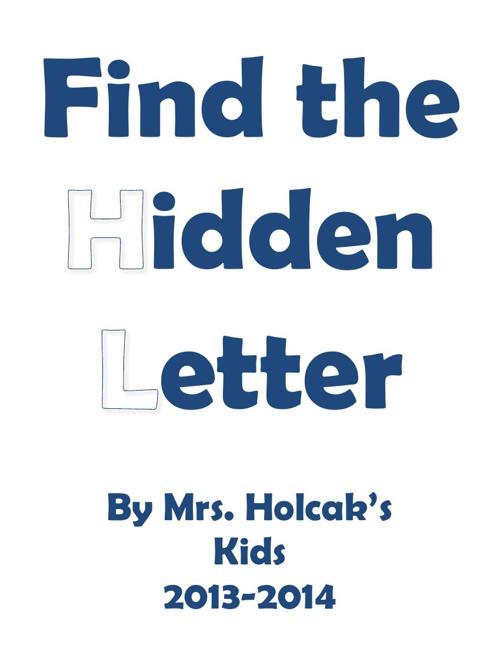 SY Mrs. Holcak's hidden letter book