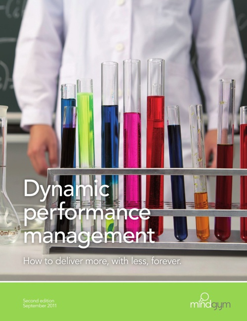 Dynamic performance management: deliver more with less [US]