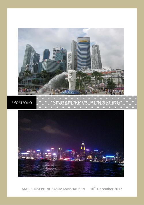 Singapore vs. Hong Kong