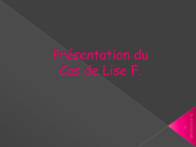 Lise F.
