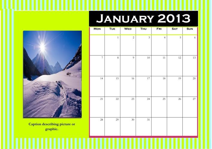 Planet Earth Calendars