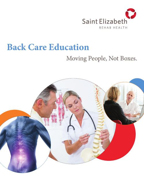 Back Care Digital Brochure
